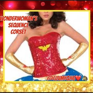 Wonder Woman's Corset Costume